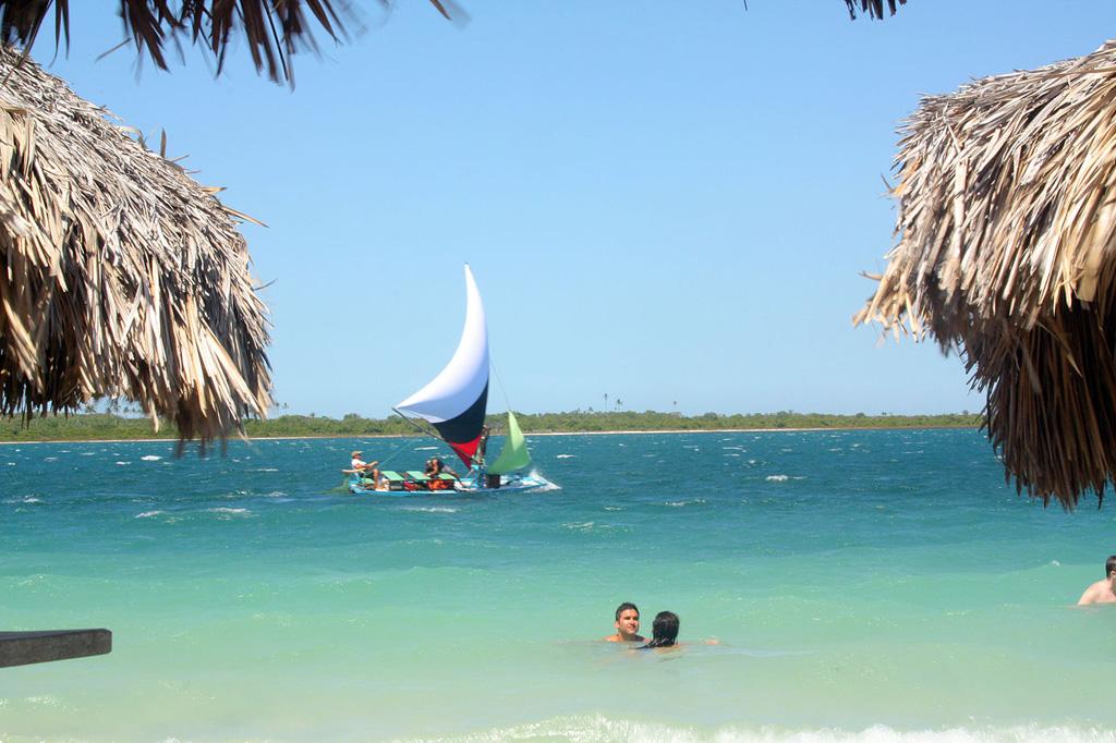 Пляж Жерикоакоара в Бразилии, фото 8