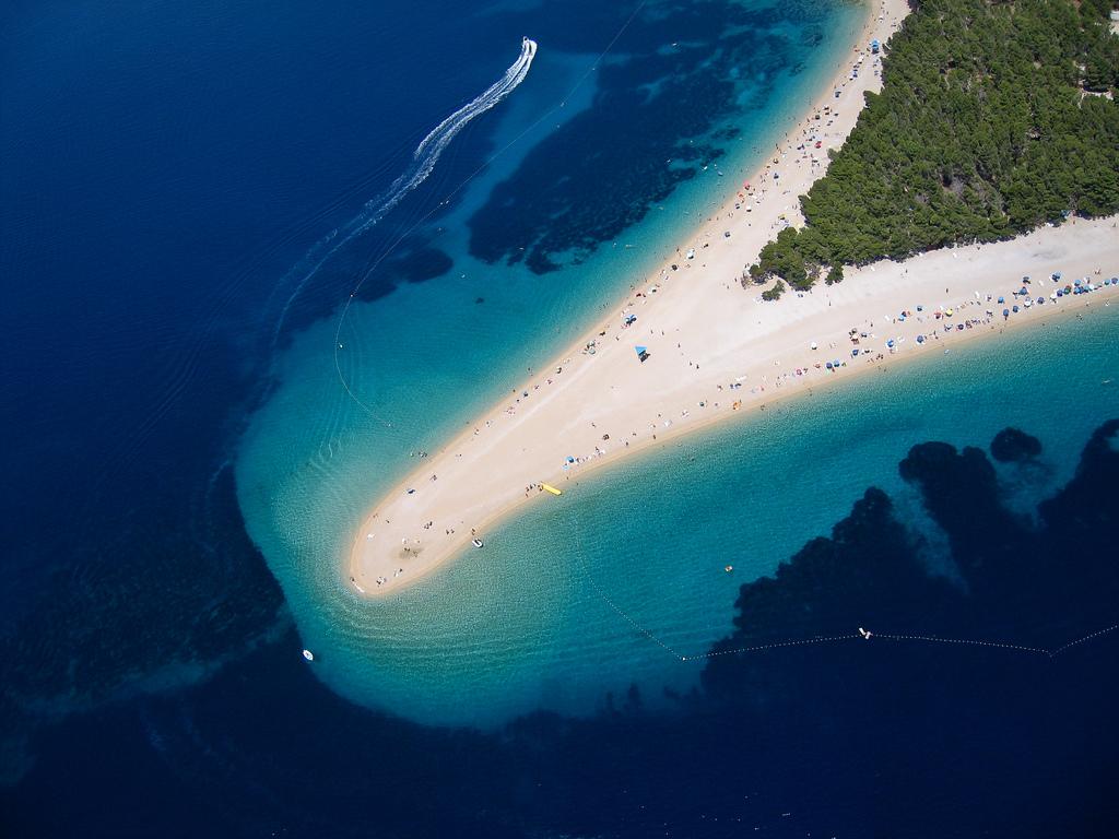Пляж Златни Рат в Хорватии, фото 1
