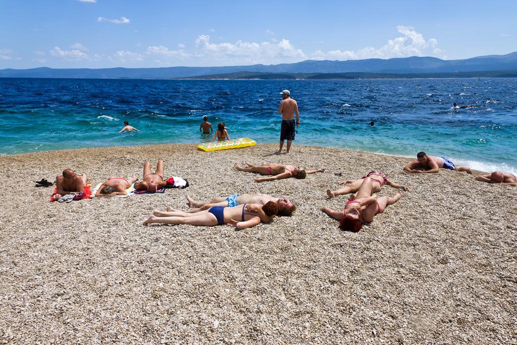 Пляж Златни Рат в Хорватии, фото 2