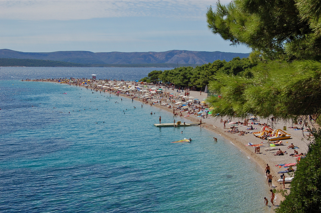 Пляж Златни Рат в Хорватии, фото 4
