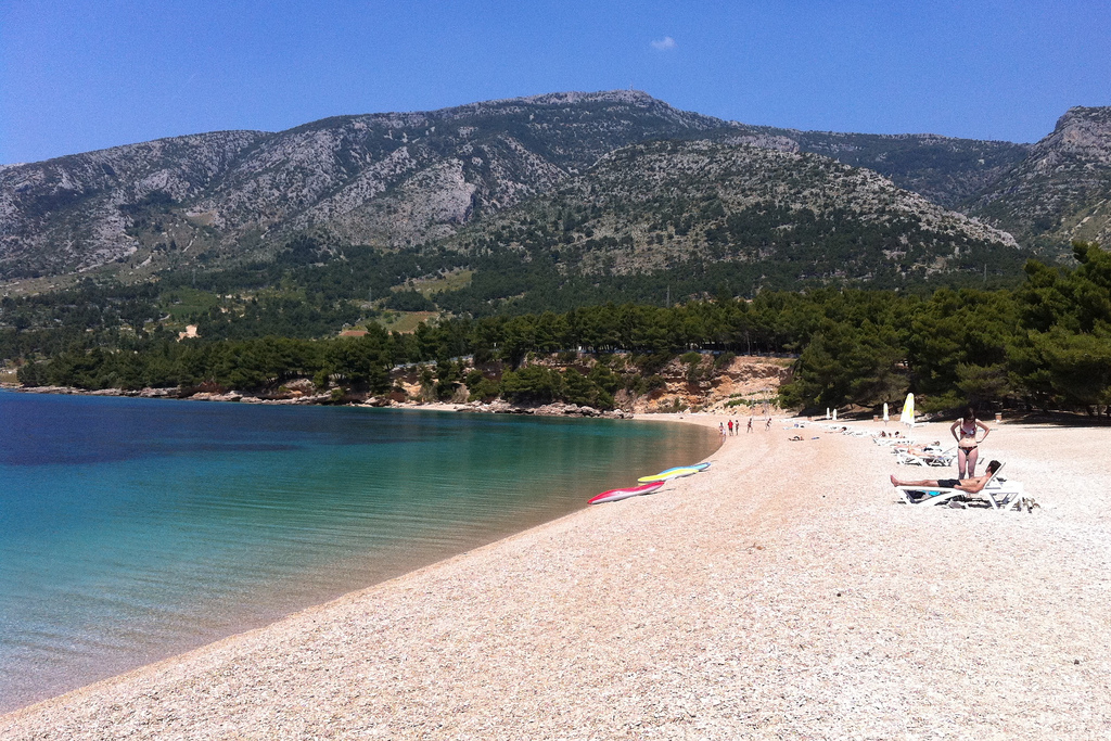 Пляж Златни Рат в Хорватии, фото 7