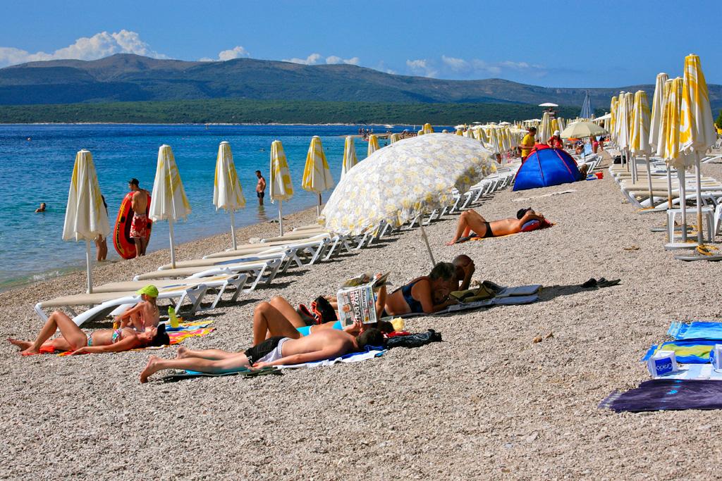 Пляж Златни Рат в Хорватии, фото 11