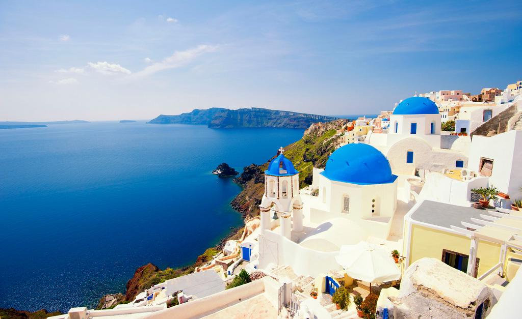 Остров Санторини в Греции, фото 1