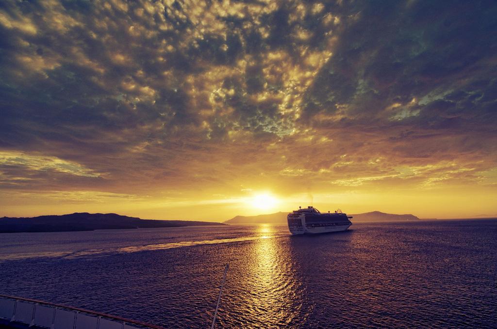 Остров Санторини в Греции, фото 3