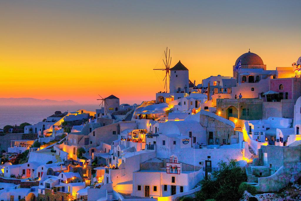 Остров Санторини в Греции, фото 5