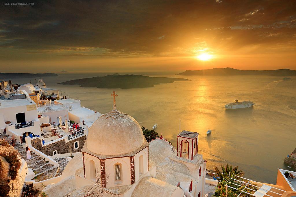 Остров Санторини в Греции, фото 6