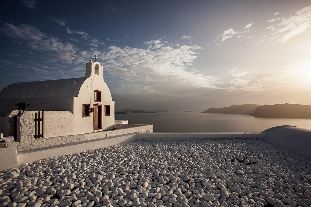 Остров Санторини в Греции, фото 7