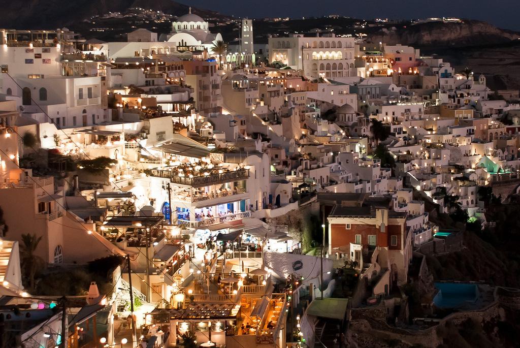 Остров Санторини в Греции, фото 9