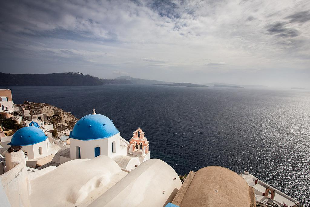 Остров Санторини в Греции, фото 10