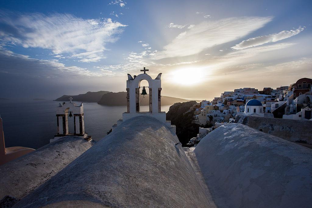 Остров Санторини в Греции, фото 12