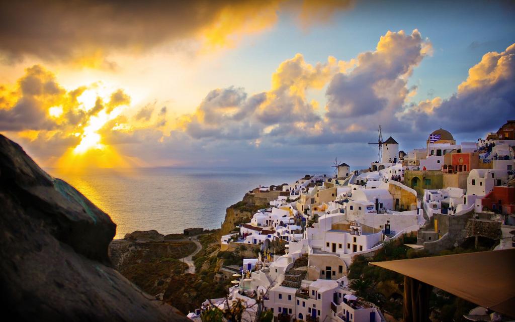 Остров Санторини в Греции, фото 14