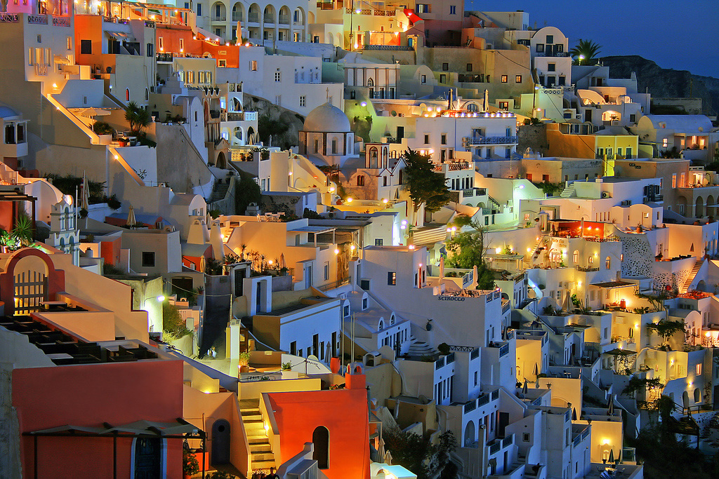 Остров Санторини в Греции, фото 16