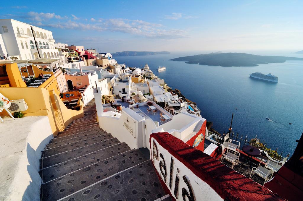 Остров Санторини в Греции, фото 17