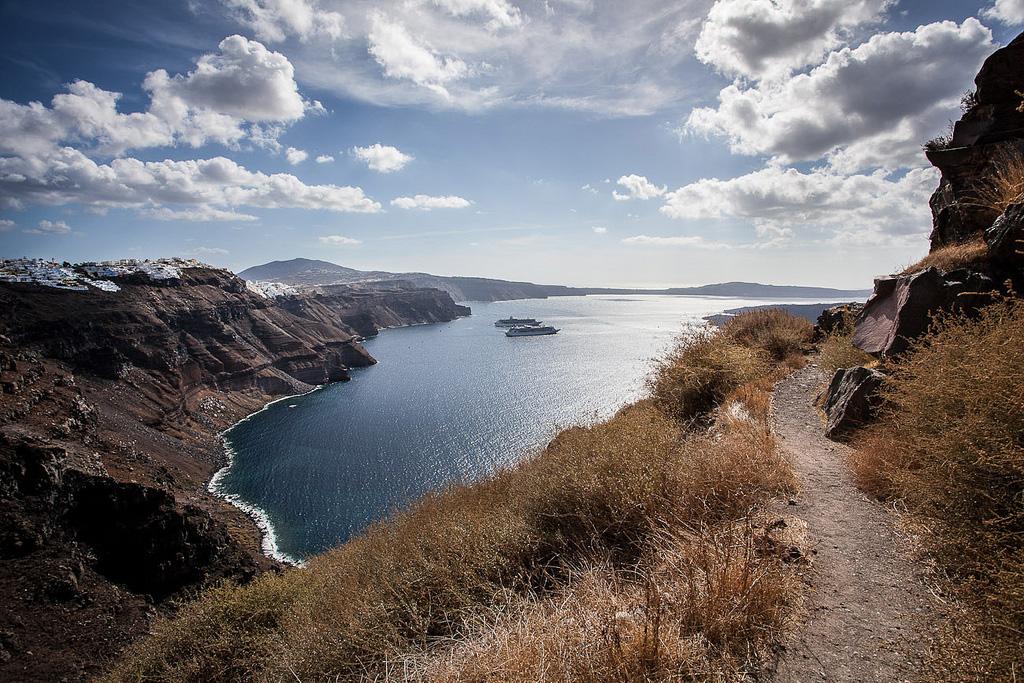 Остров Санторини в Греции, фото 19