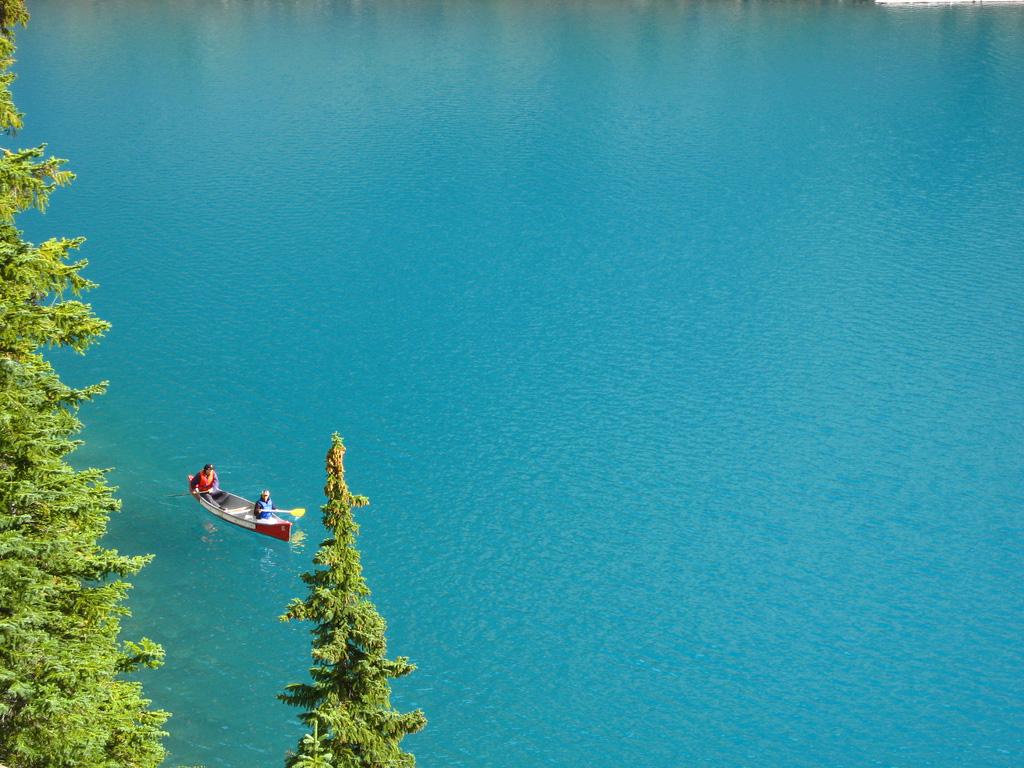 Озеро Морейн в Канаде, фото 3