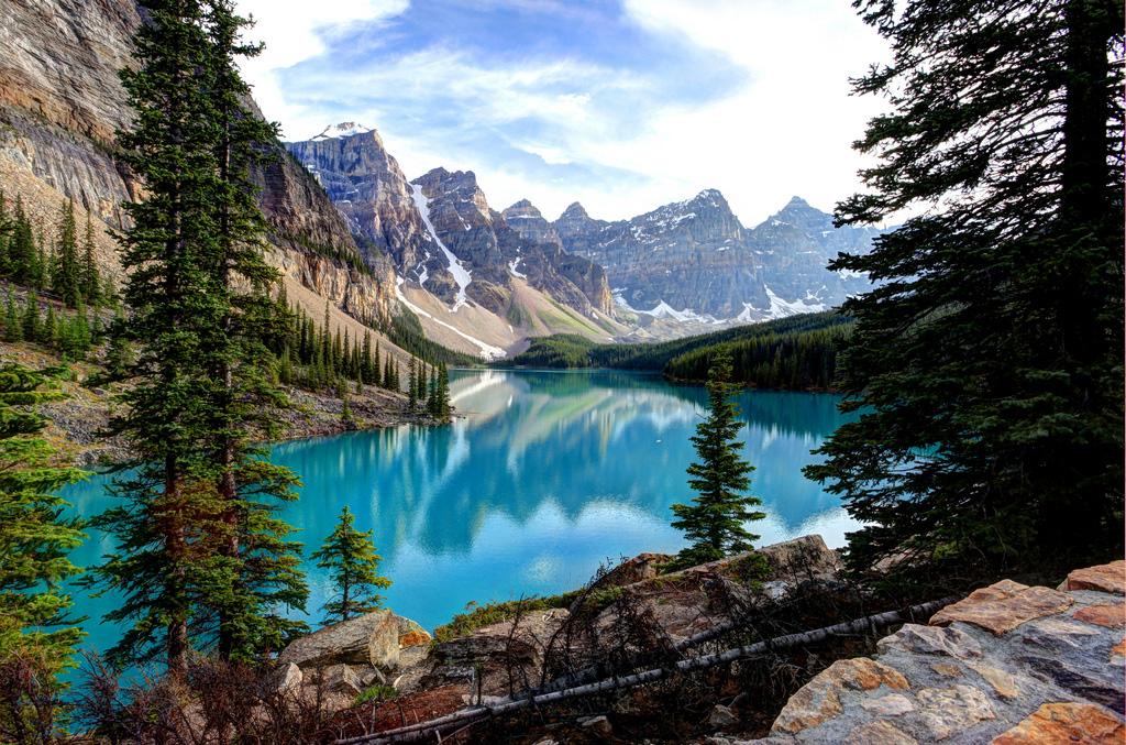 Озеро Морейн в Канаде, фото 5