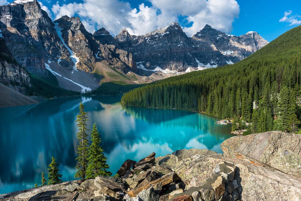 Озеро Морейн в Канаде, фото 6
