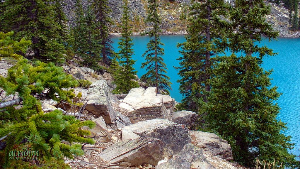Озеро Морейн в Канаде, фото 7