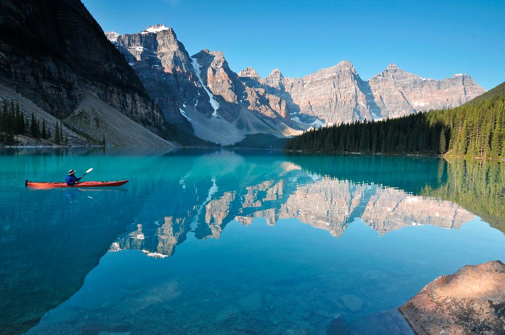 Озеро Морейн в Канаде, фото 11