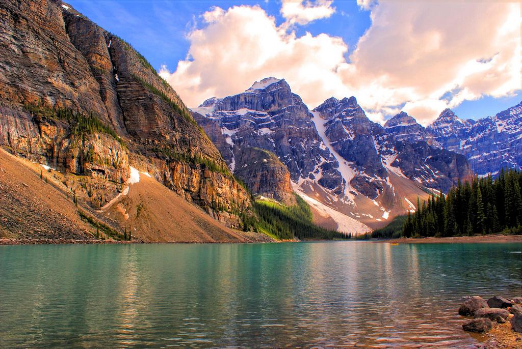 Озеро Морейн в Канаде, фото 14