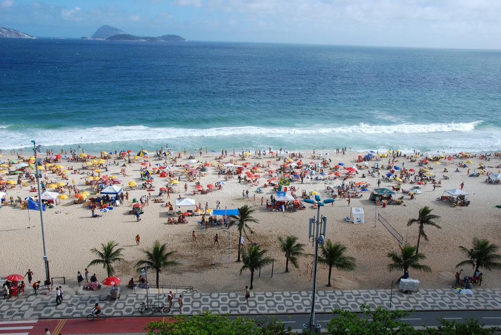 Пляж Ипанема в Бразилии, фото 1
