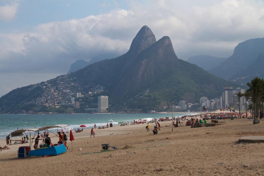 Пляж Ипанема в Бразилии, фото 4