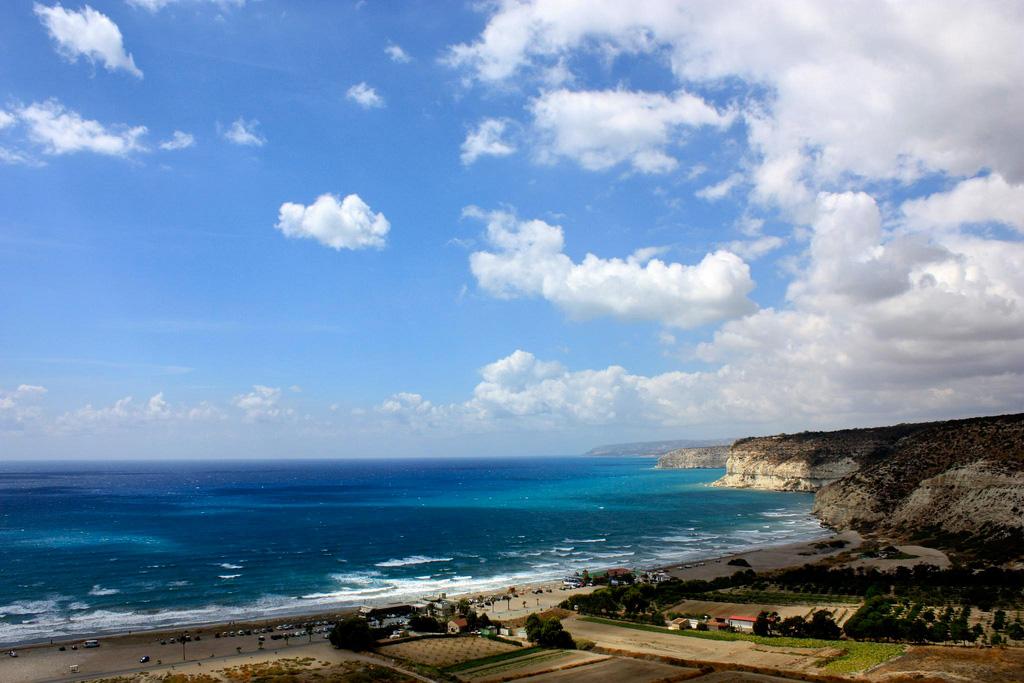 Пляж Курион на Кипре, фото 3
