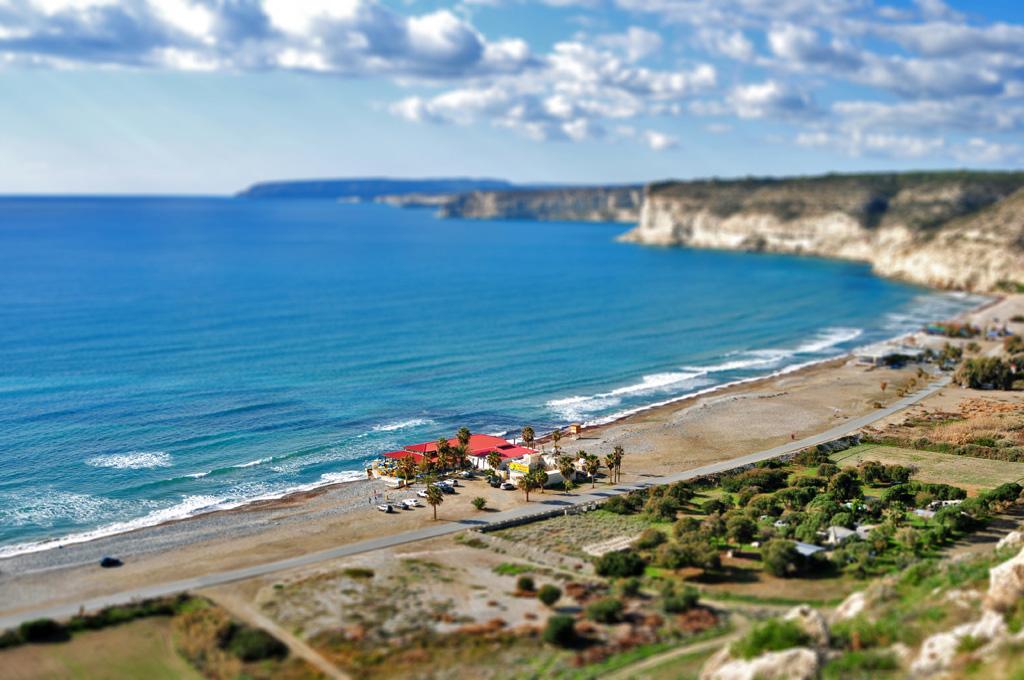Пляж Курион на Кипре, фото 4