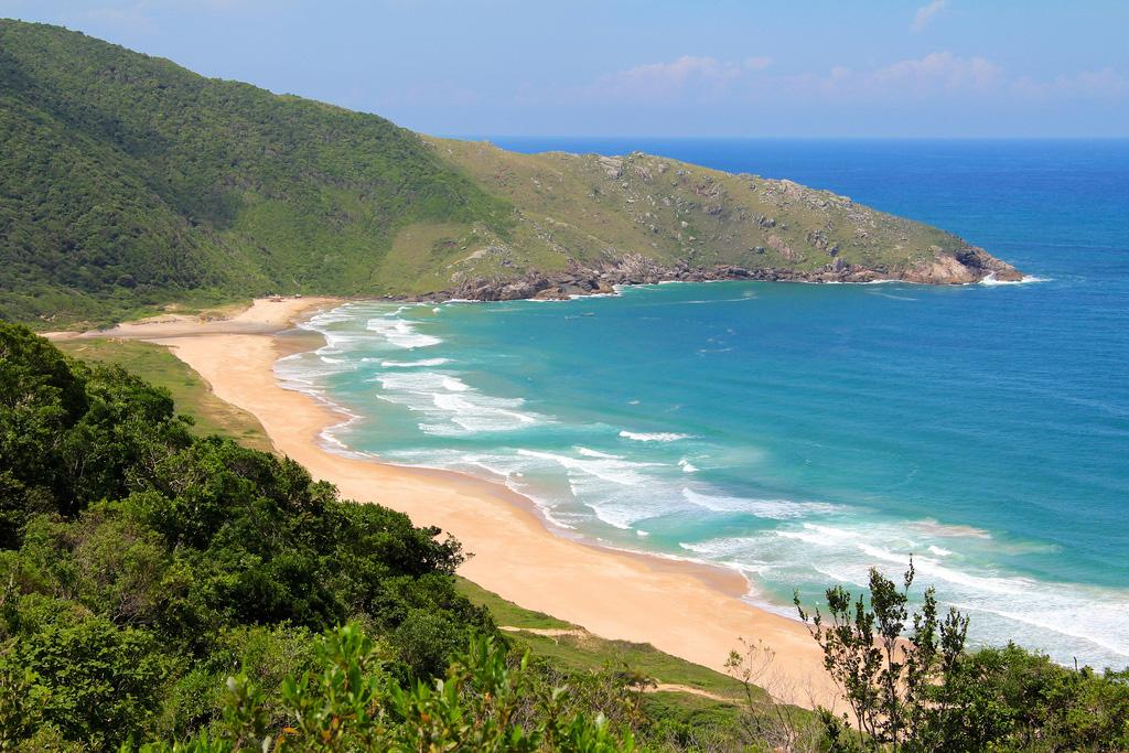 Пляж Лагоинья ду Лесте в Бразилии, фото 1