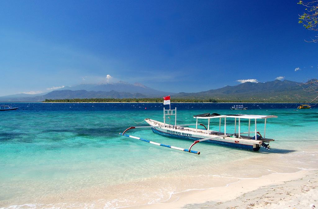 Пляж Ломбок в Индонезии, фото 14