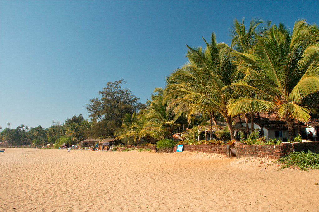 Пляж Патнем в Индии, фото 1