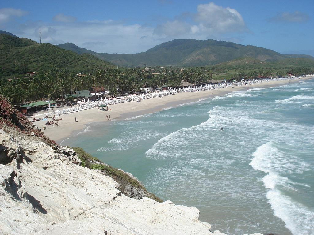 Пляж Плайя Паргито в Венесуэле, фото 3