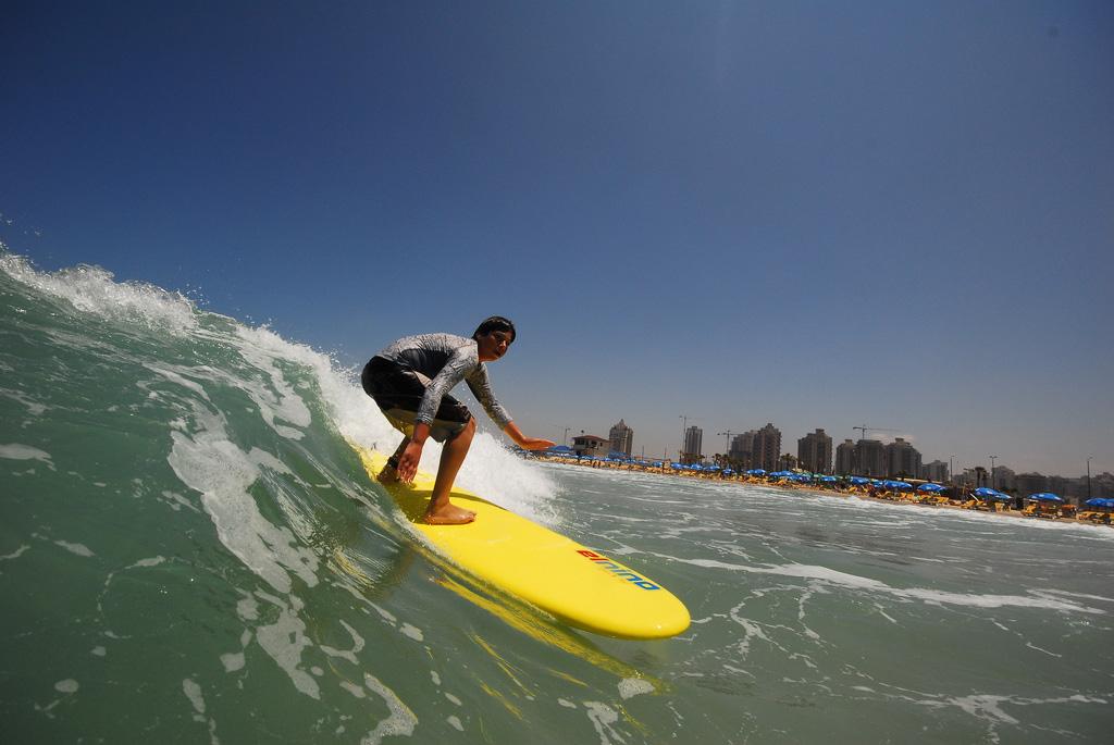 Пляж Полег в Израиле, фото 2