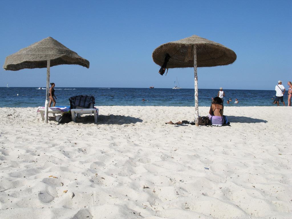 Пляж Порт Эль-Кантауи в Тунисе, фото 4