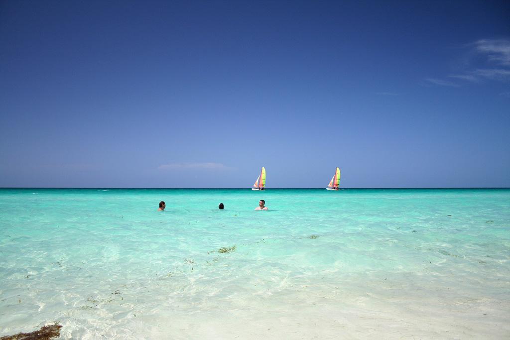 Пляж Санта-Мария в Кабо-Верде, фото 1