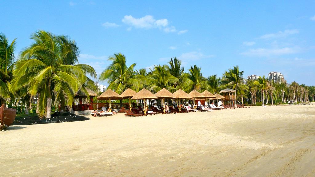 Пляж Санья в Китае, фото 1