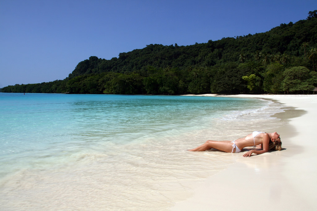 Пляж Шампань в Вануату, фото 1