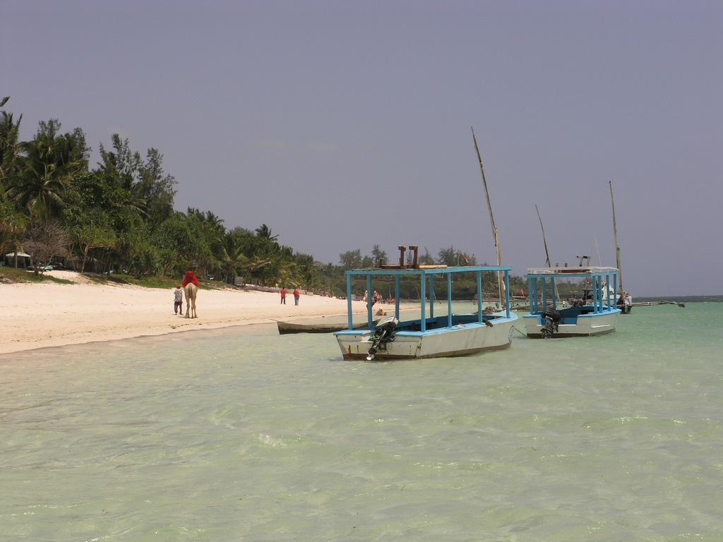 Пляж Шанзу в Кении, фото 1