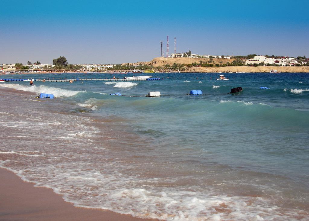 Пляж Шарм-Эль-Шейх в Египете, фото 1
