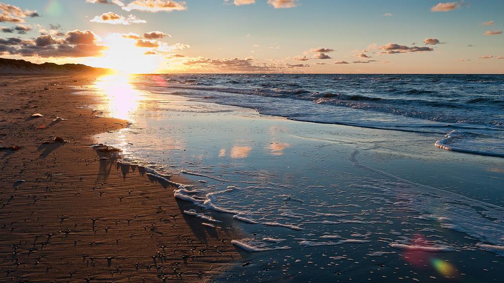 Пляж Скаген в Дании, фото 1