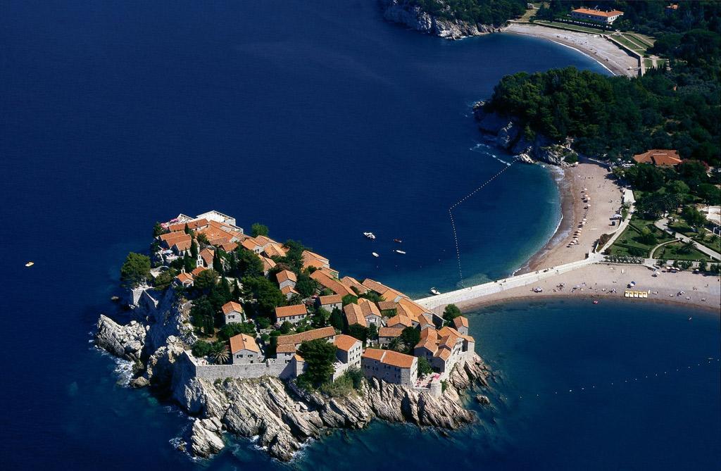 Пляж Свети Стефан в Черногории, фото 1