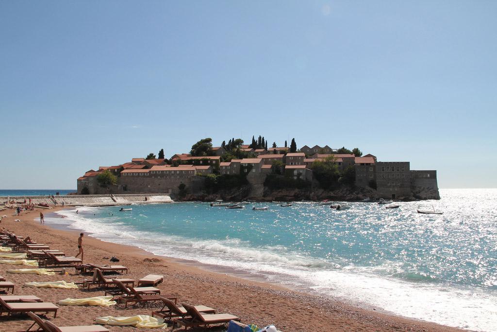 Пляж Свети Стефан в Черногории, фото 2