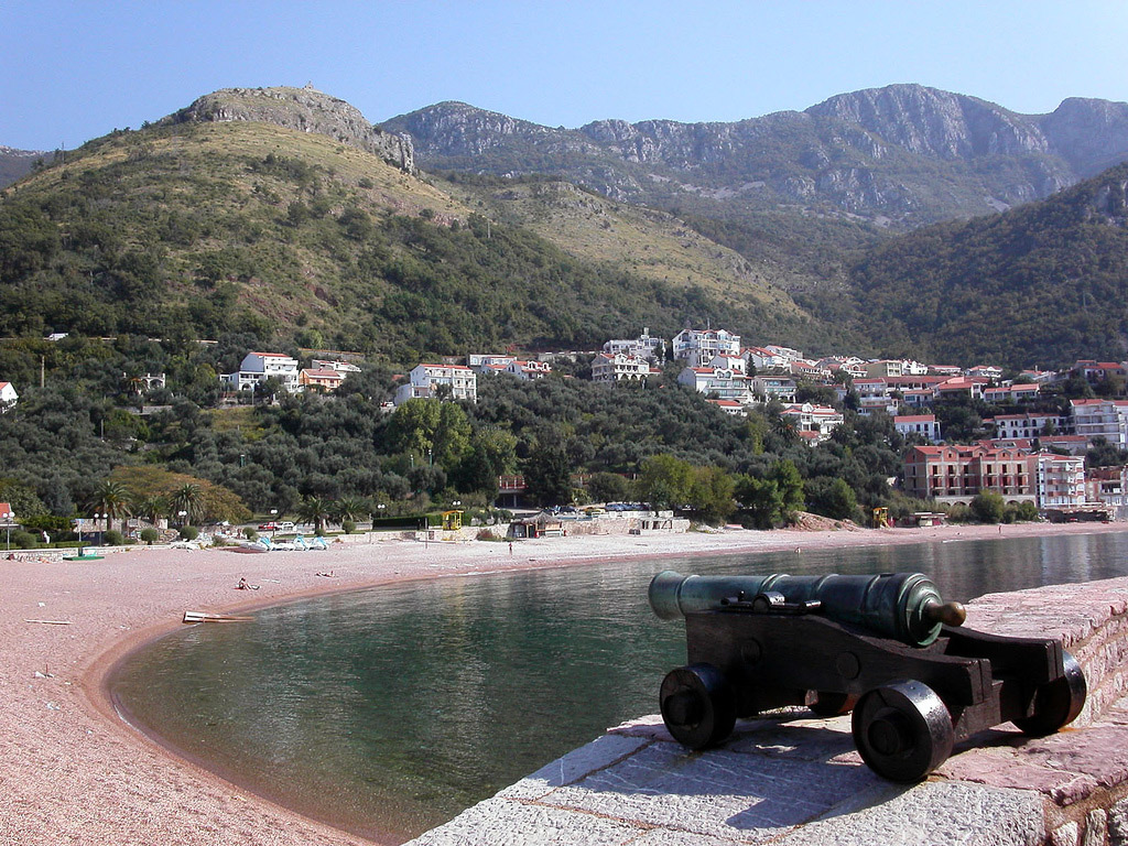 Пляж Свети Стефан в Черногории, фото 3