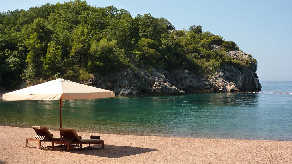 Пляж Свети Стефан в Черногории, фото 4