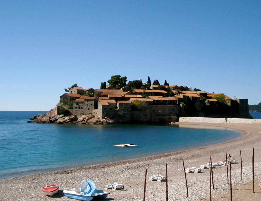 Пляж Свети Стефан в Черногории, фото 5