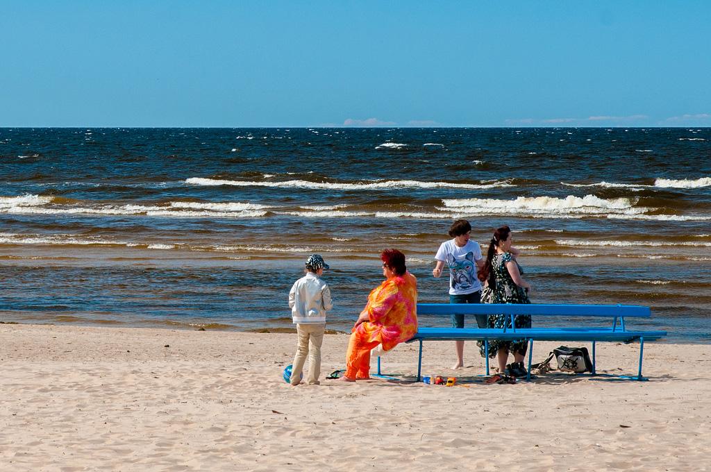 Пляж Юрмала в Латвии, фото 1