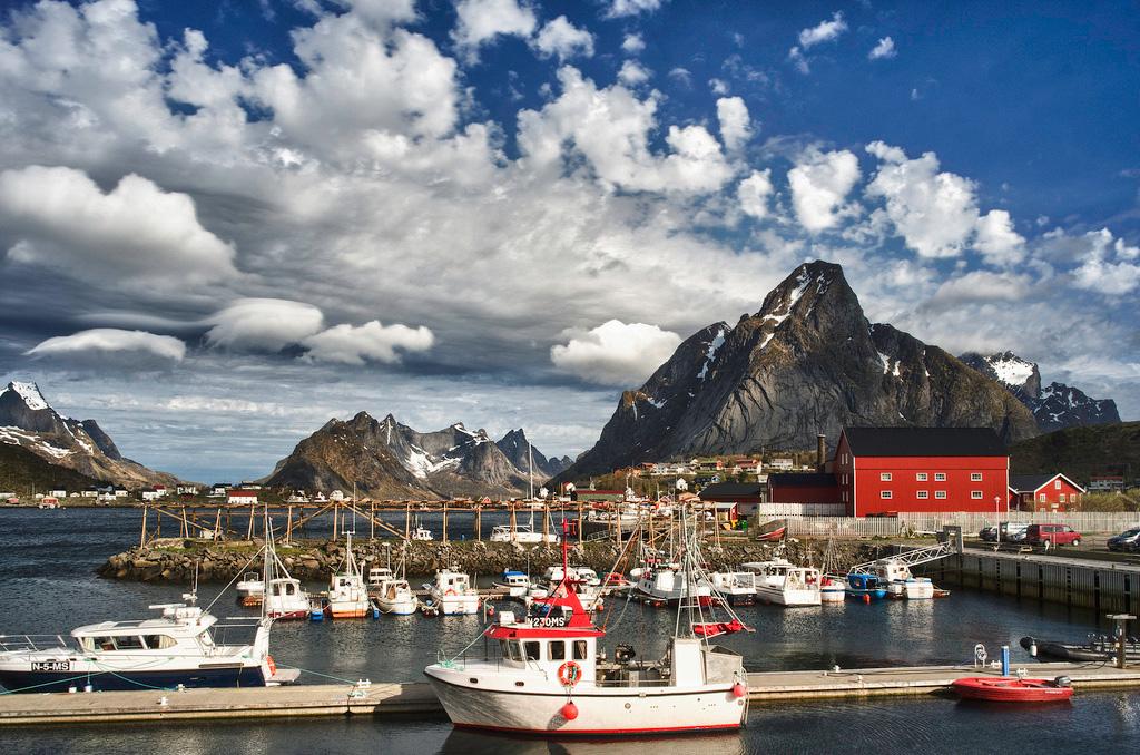 Лофотенские острова в Норвегии, фото 14