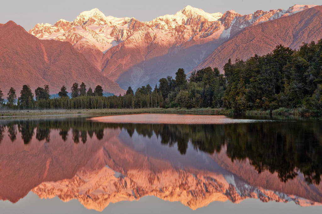 Озеро Мэтисон в Новой Зеландии, фото 2