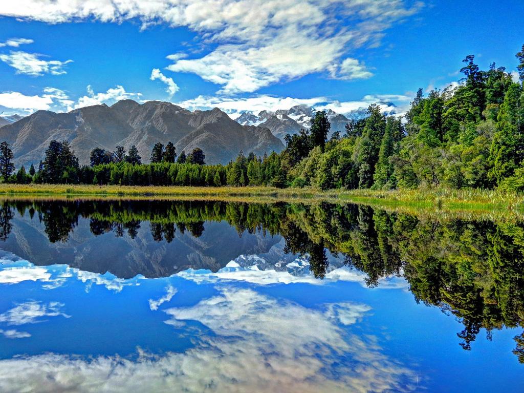 Озеро Мэтисон в Новой Зеландии, фото 3