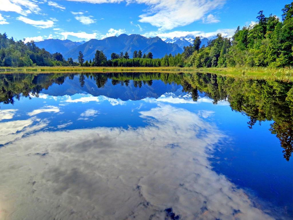 Озеро Мэтисон в Новой Зеландии, фото 4
